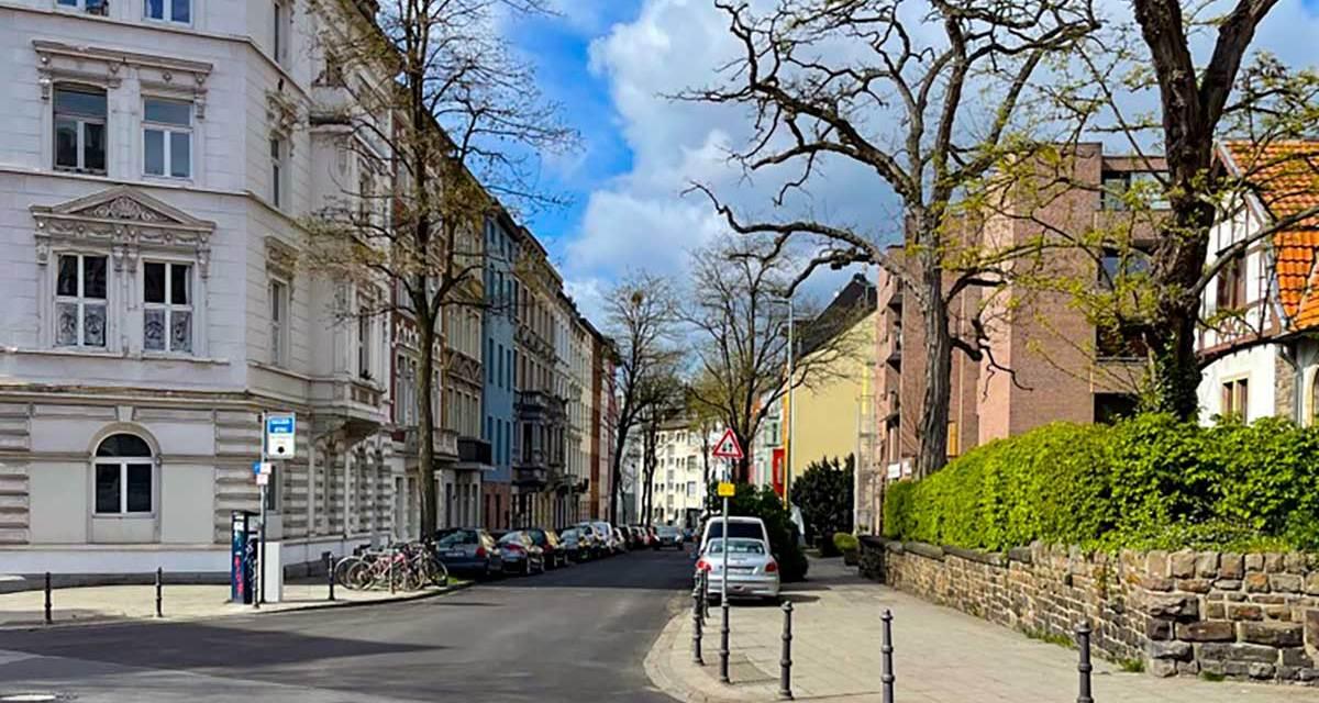 Robensstraße wieder frei