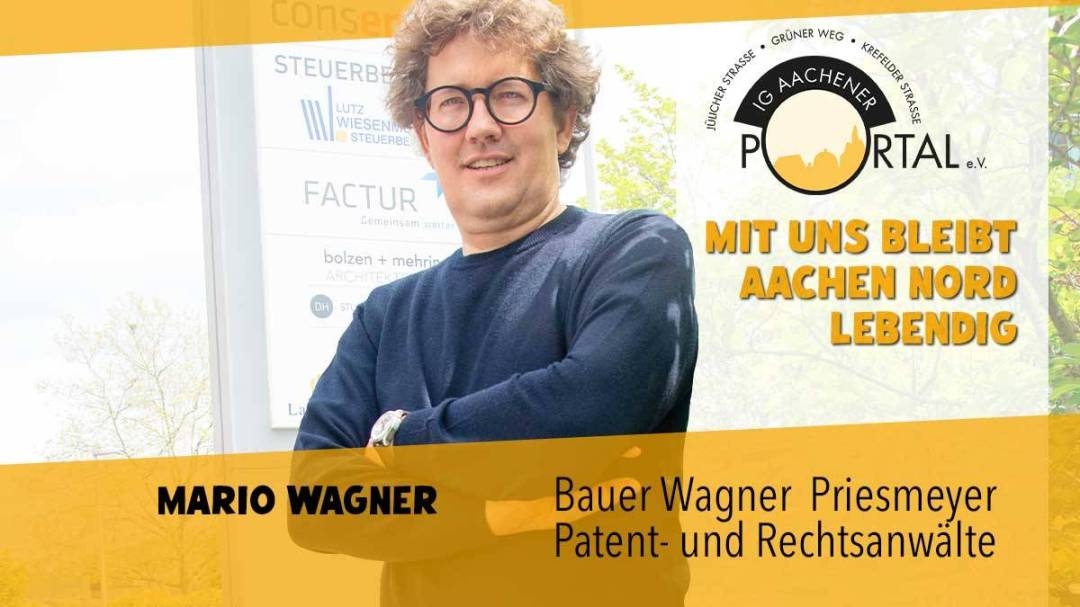 Mit uns bleibt Aachen Nord lebendig mit Mario Wagner