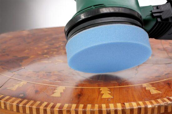 Velcro Polerhætte Ø 125 mm - Filt værktøj