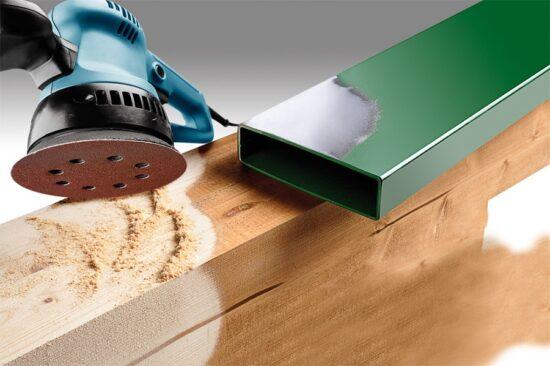Velcro Sliberondel Korn 60 - Ø 125 mm værktøj