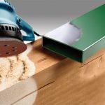 Velcro Sliberondel Korn 240 - Ø 125 mm værktøj