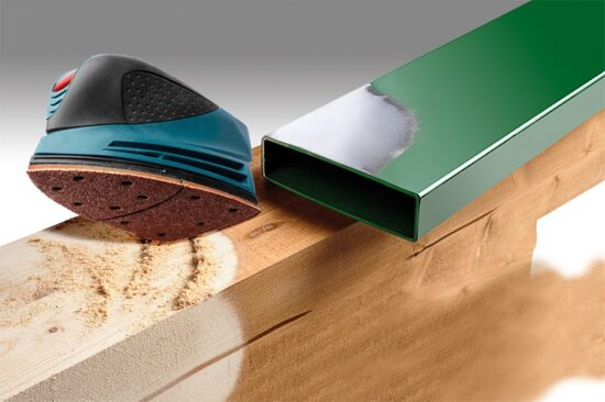 Velcro Trekantslibepapir Korn 60 værktøj