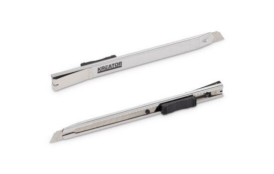 Rustfri hobbykniv 9 mm, knæk af værktøj
