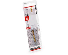 HSS-Tin metalbor 2,0 mm - 2 stk. værktøj