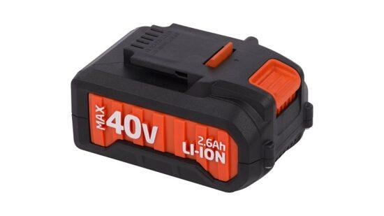 Batteri 2,6 Ah 40 Volt til DUAL POWER værktøj