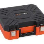 Kuffert til 4 batterier og oplader DUAL værktøj