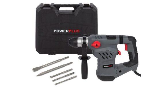 Borehammer i kuffert med tilbehør 1600 W værktøj