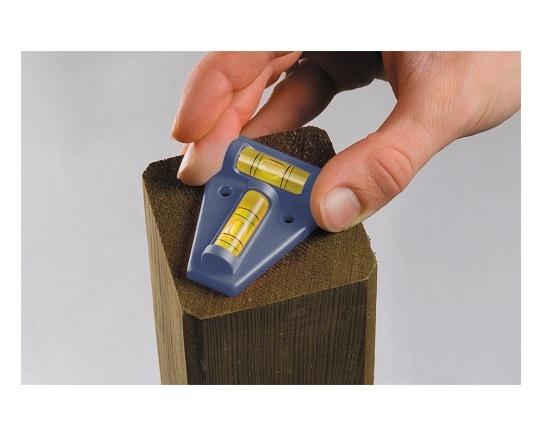 Mini vaterpas til stolper 58 mm værktøj