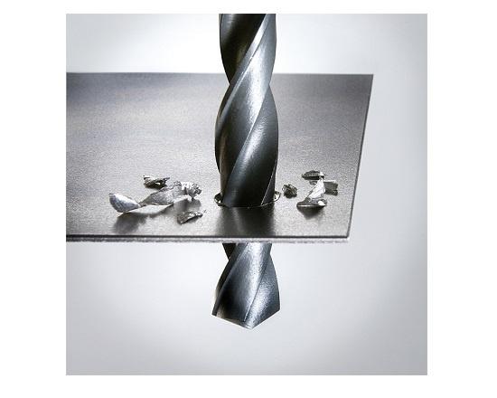 Metalbor 17 mm neddrejet skaft 13 mm værktøj
