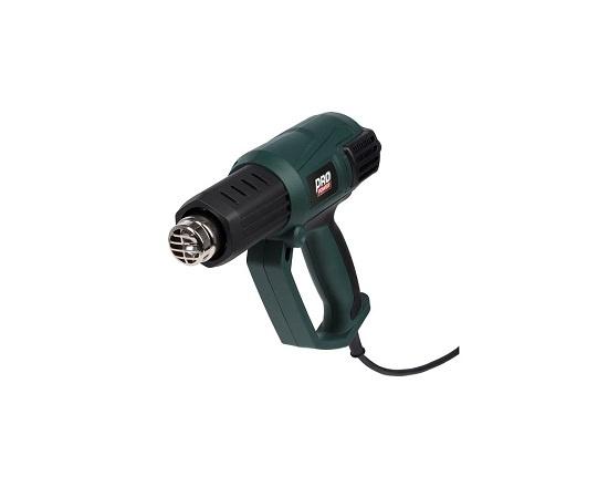 Varmepistol med ergonomisk greb 2000 W værktøj