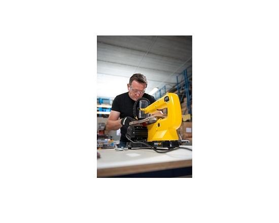 Dekupørsav 85 watt med vippebart savbord værktøj
