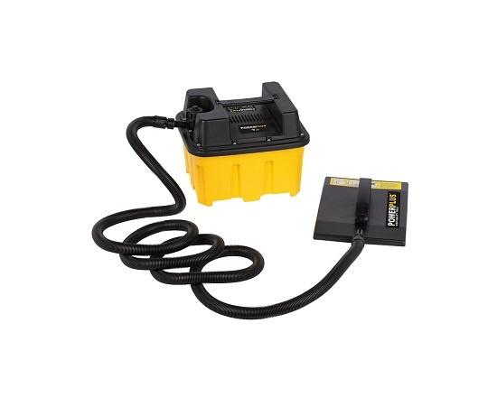 Tapetafdamper 2200 Watt med 4,5 L tank værktøj