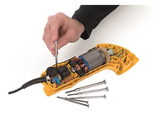 Præcision skruetrækkersæt torx 6 dele værktøj