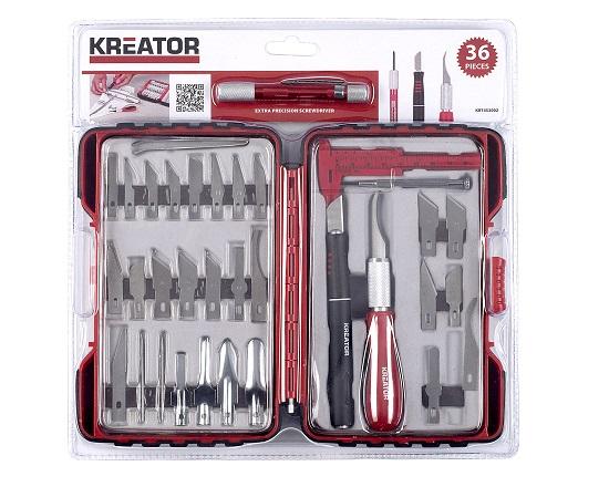 Præcisions knivsæt 36 dele til udskæring værktøj