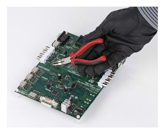 Elektronik Spidstang bøjet 125 mm værktøj