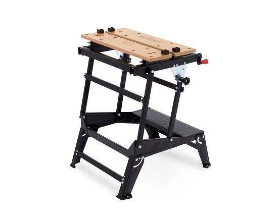 Arbejdsbænk sammenklappelig 100 kg. værktøj