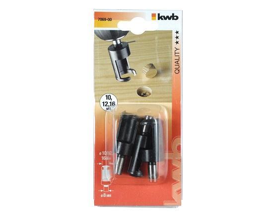 Propborsæt indvending 10-12-16 mm værktøj