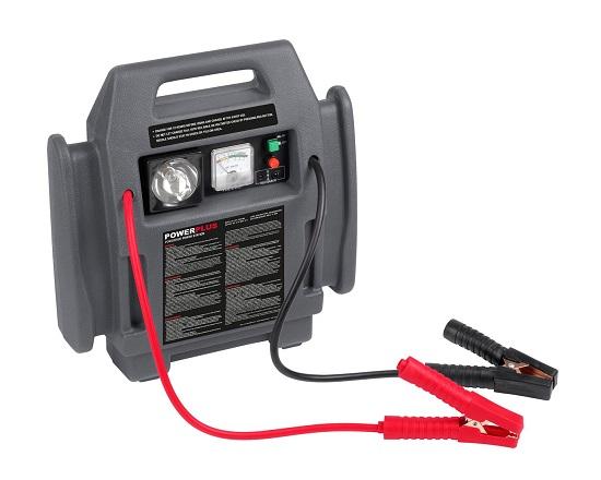 Energistation med kompressor 4 I 1 værktøj