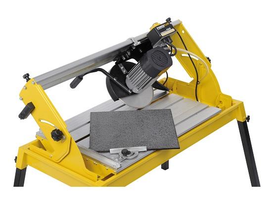 Fliseskærer 1100 W 250 mm diamantklinge værktøj