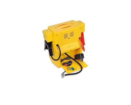 Energistation 4 I 1 med kompressor værktøj