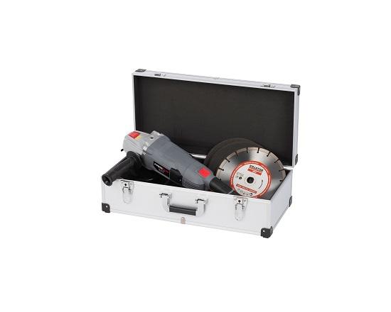 Aluminiums kuffert sølv til 80 cd'er værktøj