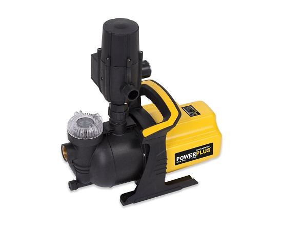 Havepumpe med automatisk pumpe 3000 l/t værktøj