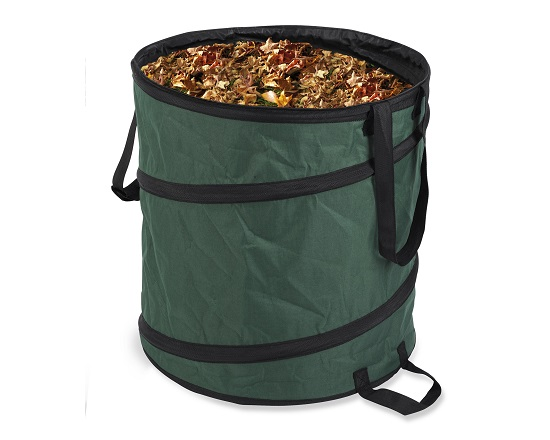 Sæk til haveaffald 85 liter foldbar værktøj