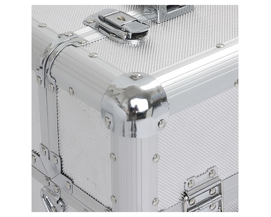 Aluminiums trolly på hjul - med håndtag værktøj