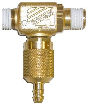 Brass chem. Inj.-2mm orifice #ZROBO0B