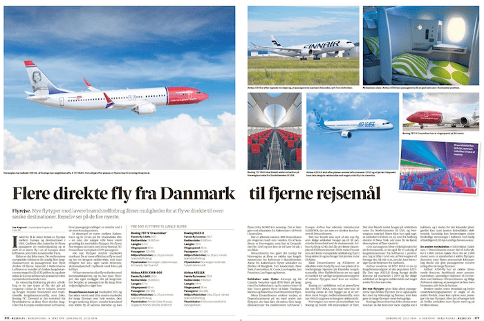 Flere direkte fly til fjerne rejsemål
