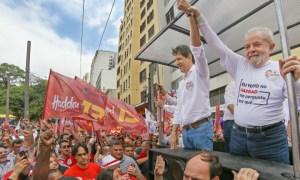 Evento de 'virada do Haddad' em 2016: para toda tese há uma antítese. Foto: Ricardo Stuckert/Instituto Lula