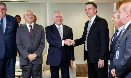 Brasília – DF, 07/11/2018 – Presidente da República, Michel Temer durante encontro com Jair Bolsonaro, Presidente da República eleito. Foto: Alan Santos/PR