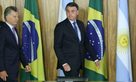 Macri e Bolsonaro: a amizade é boa, a avaliação nem tanto. Foto: José Cruz/Agência Brasil