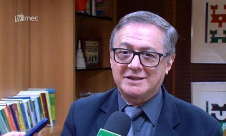 Vélez Rodríguez: no MEC, alunos com o perfil do professor. Foto: Divulgação/TV MEC