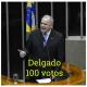 O placar de 367 votos pelo impeachment de Dilma coincide com a soma de votos em Eduardo Cunha e Julio Delgado em fevereiro de 2015 para presidir a Casa.