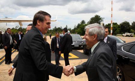 Presidente passou ao chefe do GSI, que controla a Abin, a missão de espionar os memes. Foto: Marcos Corrêa/PR