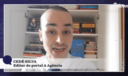 'A Agência': fazendo uma ponta no programa de Antonio Tabet. Foto: Reprodução/Canal MyNews