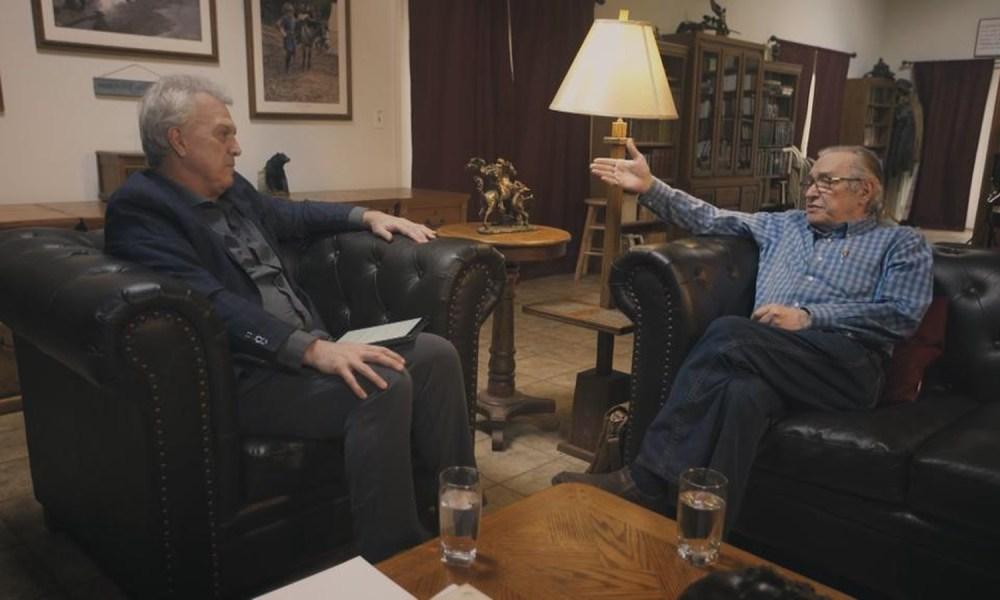 Bial na casa de Olavo, nos EUA: convite para o alto escalão. Foto: TV Globo