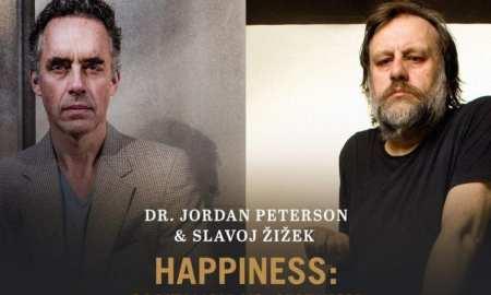 Peterson e Zizek: o debate do século? Martin Wight teria dúvidas. Foto: Divulgação