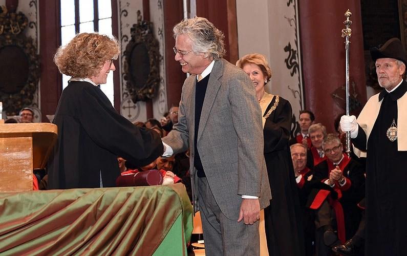 Irving Kirsch, 'honoris causa' por la Universidad de Basilea