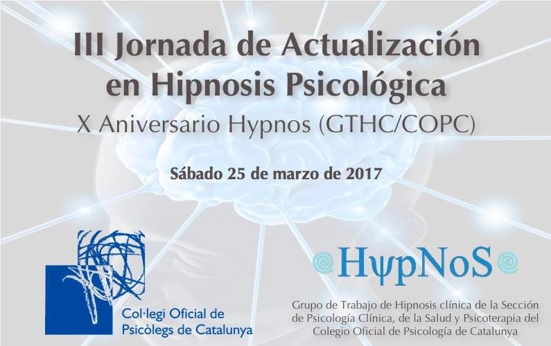 III Jornada de Actualización en Hipnosis Psicológica
