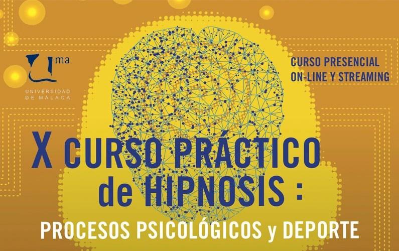 X Curso en hipnosis: procesos psicológicos y deporte