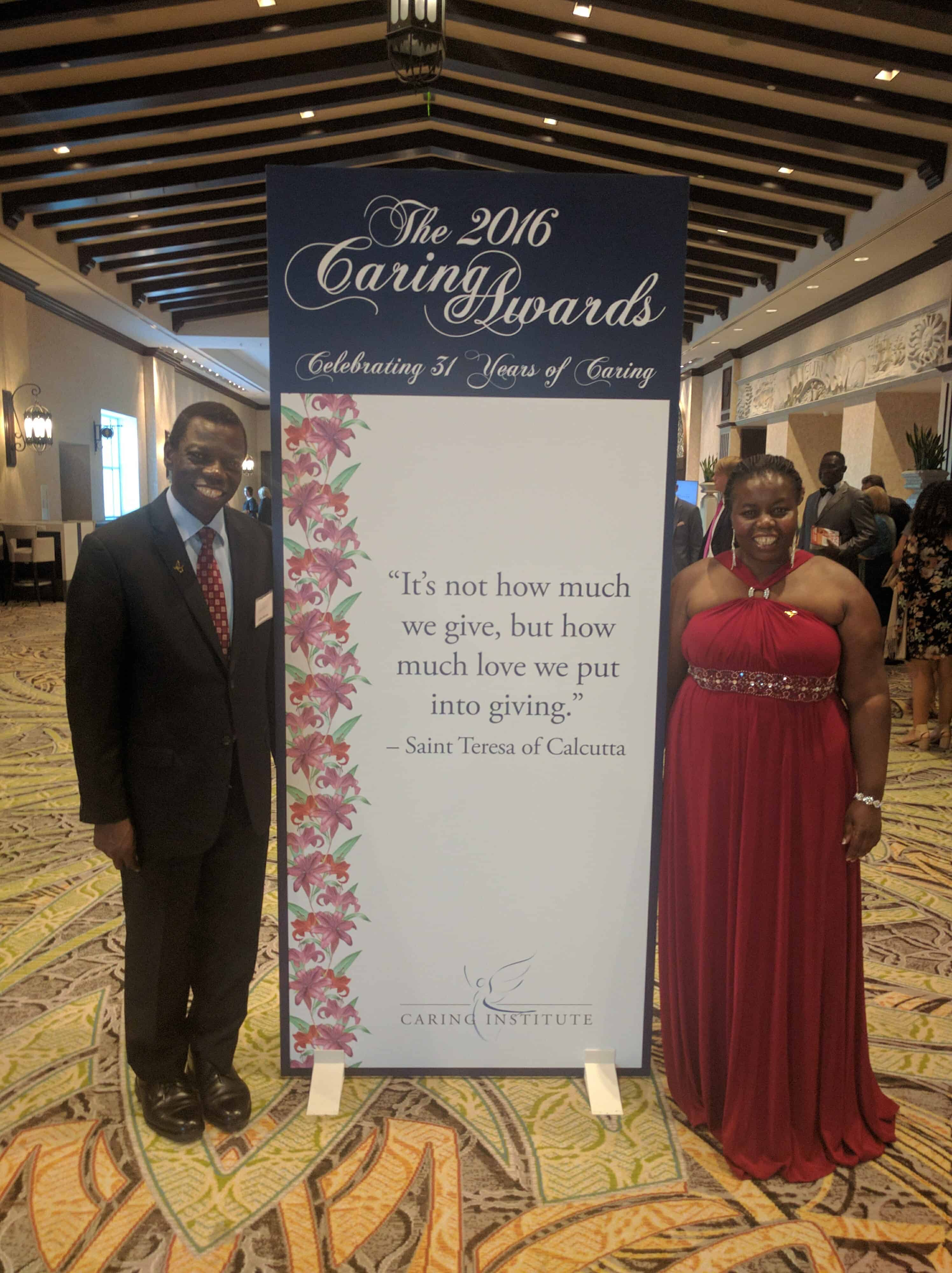 AAH Co-Founders Receive 2016 National Caring Award