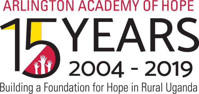 arlington academy of hope 15 years logo
