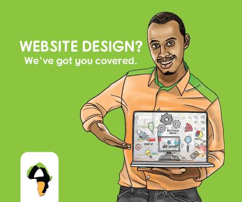 Website design Uganda at African Art Innovations Ltd