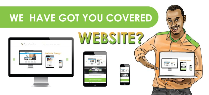 Website Design at African Art Innovations Ltd