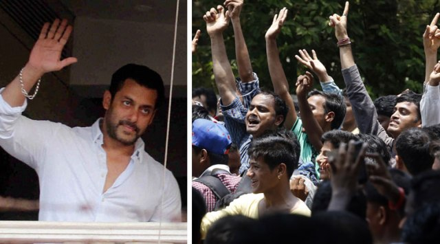 Image result for salman khan in public fans