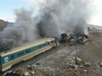 31 people died as trains collide in iran