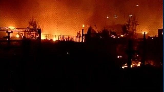 fire in sadar bazar