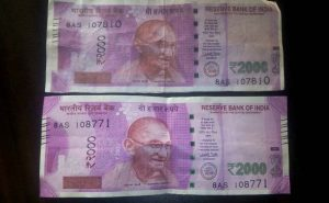 school kids in madhya pradesh photocopied 2000 rs note